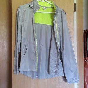 Danskin rain jacket with hood